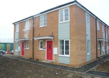 Thumbnail 1 bedroom terraced house to rent in Hercules Way, Cardea, Stanground, Peterborough