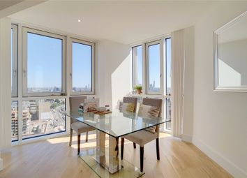 Thumbnail 3 bed flat for sale in Sky View Tower, High Street, London