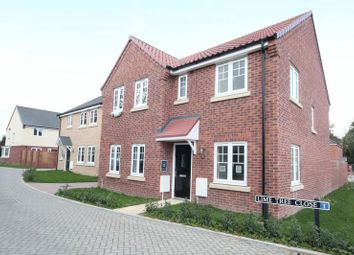 Thumbnail 4 bedroom detached house for sale in Pigot Lane, Framingham Earl, Norwich