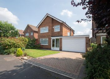 Thumbnail 3 bed detached house for sale in Clifford Close, Keyworth, Nottingham