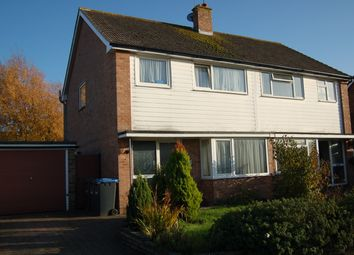 Thumbnail 3 bed semi-detached house to rent in Victoria Avenue, Burgess Hill