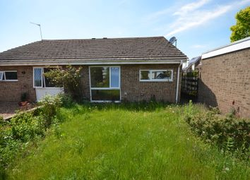 Thumbnail 2 bed semi-detached bungalow to rent in Castle Close, Corby