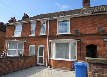 Thumbnail 3 bedroom terraced house for sale in Grange Road, Ipswich