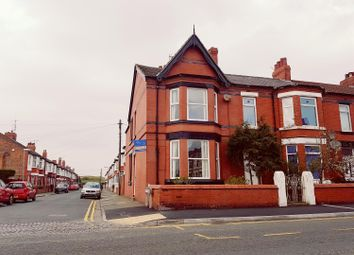 Thumbnail 3 bed end terrace house to rent in Grove Road, Wallasey, Wirral