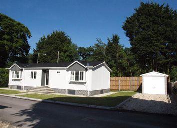 Thumbnail 2 bed mobile/park home for sale in Oaklands Park, Crossways, Dorchester