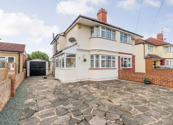 Thumbnail 3 bed semi-detached house for sale in Welwyn Avenue, Feltham