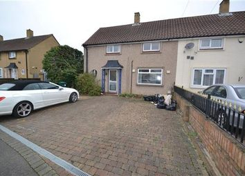 Thumbnail 2 bed semi-detached house to rent in Elsinore Avenue, Stanwell, Staines
