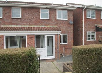 Thumbnail 2 bed semi-detached house to rent in Roman Way, Honiton
