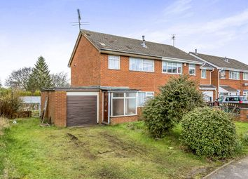 Thumbnail 3 bedroom semi-detached house for sale in Chatterley Drive, Kidsgrove, Stoke-On-Trent