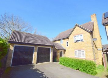Thumbnail 4 bedroom detached house for sale in Islingbrook, Shenley Brook End, Milton Keynes