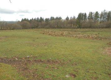 Thumbnail Land for sale in Land At Pantycerdin, Creuddyn Bridge, Lampeter, Ceredigion