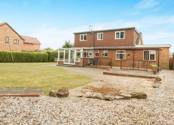 Thumbnail 4 bed detached house for sale in Eastfields, Narborough, King's Lynn