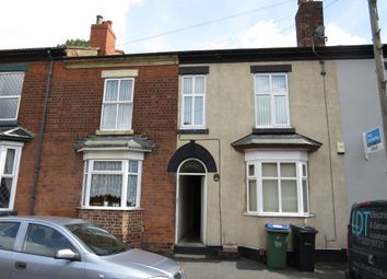 Thumbnail 3 bedroom terraced house for sale in Foley Street, Wednesbury