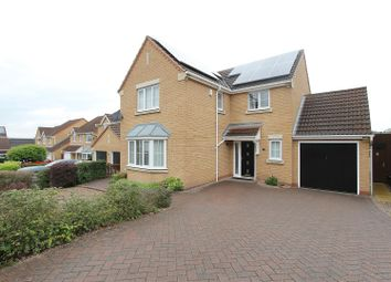 Thumbnail 4 bed detached house for sale in Kirby Close, Hasland, Chesterfield