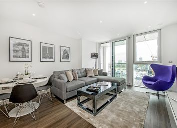 Thumbnail 1 bedroom flat to rent in Pinto Tower, Nine Elms Point, 4 Hebden Place, London