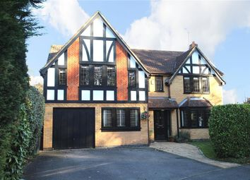Thumbnail 5 bed detached house for sale in Vicarage Wood Way, Tilehurst, Reading