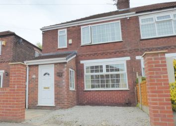 Thumbnail 3 bed semi-detached house for sale in Dalkeith Road, Stockport