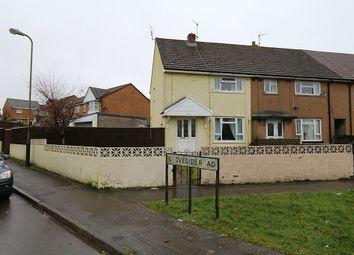 Thumbnail 2 bed end terrace house for sale in Groveside Road, Oakdale, Blackwood, Caerffili
