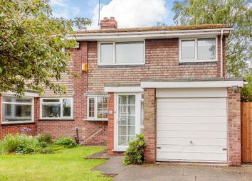 Thumbnail 3 bed semi-detached house for sale in Hornbrook Grove, Solihull