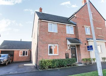 Thumbnail 3 bed semi-detached house for sale in Priory Avenue, Hawksyard, Rugeley