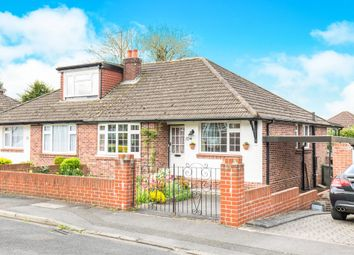 Thumbnail 2 bed semi-detached bungalow for sale in Hartley Road, Bishopstoke, Eastleigh