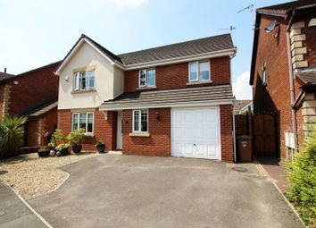 Thumbnail 5 bed detached house for sale in Gwern Y Sant, Blackwood, Gwent