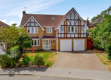 Thumbnail 6 bed detached house for sale in Barnwell Crescent, Harrogate, North Yorkshire