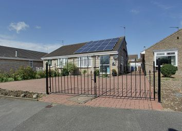 Thumbnail 3 bed semi-detached bungalow for sale in Brevere Road, Hedon, Hull