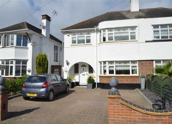Thumbnail 3 bedroom semi-detached house for sale in Woodgrange Drive, Thorpe Bay, Essex