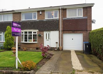 Thumbnail 4 bed semi-detached house for sale in Thorneyford Place, Ponteland