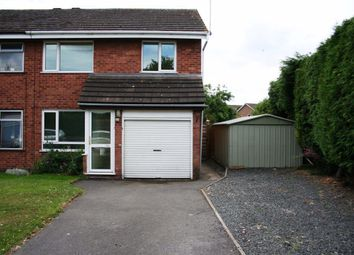 Thumbnail 3 bed property to rent in Leigh Grove, Droitwich