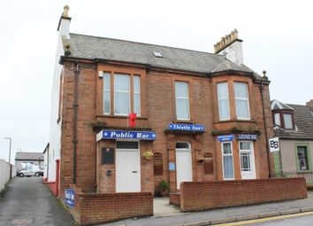 Thumbnail 4 bed end terrace house for sale in The Thistle Inn, Dalrymple Street, Stranraer