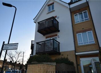 Thumbnail 1 bed flat for sale in Featherstone Court, Featherstone Road, Southall