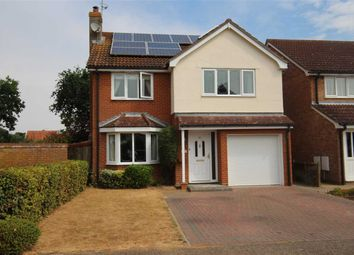 Thumbnail 4 bed detached house for sale in Reeve Gardens, Grange Farm, Kesgrave, Ipswich