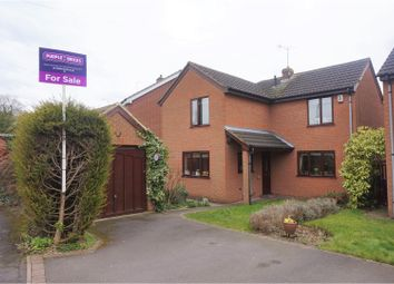 Thumbnail 4 bed detached house for sale in Sinfin Moor Lane, Chellaston