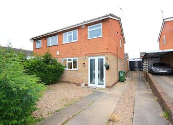 Thumbnail 3 bed semi-detached house for sale in Bramble Way, Braunstone, Leicester