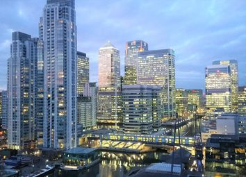 Thumbnail 2 bed flat for sale in Baltimore Tower / Arena Tower, Canary Wharf, London