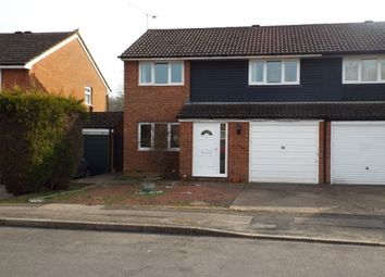 Thumbnail 3 bed semi-detached house to rent in Shetland Close, Worth, Crawley