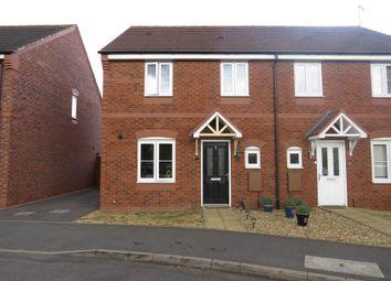 Thumbnail 3 bed semi-detached house for sale in Rowan Close, Huntington, Cannock