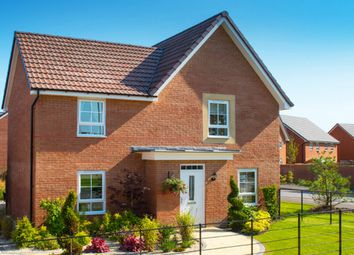 "Thumbnail 4 bed detached house for sale in ""Lincoln"" at Fen Street, Brooklands, Milton Keynes"