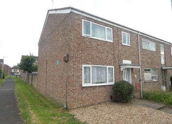 Thumbnail 3 bedroom end terrace house for sale in Duck Lane, Eynesbury, St. Neots