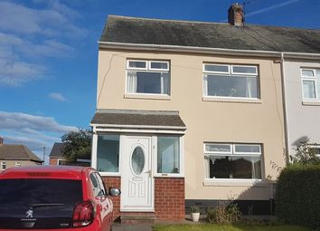 Thumbnail 3 bed semi-detached house for sale in Northumberland Avenue, Bedlington