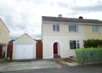 Thumbnail 4 bed semi-detached house for sale in Lon Ganol, Menai Bridge, Anglesey