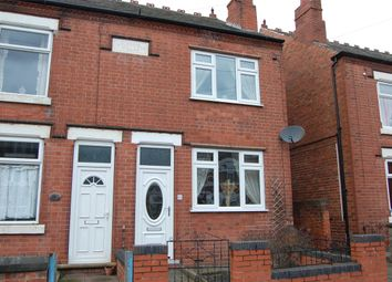 Thumbnail 2 bed semi-detached house to rent in Milton Road, Ilkeston, Derbyshire