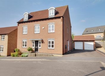 Thumbnail 5 bed detached house for sale in Longhirst Drive, Arnold, Nottingham