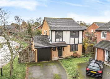 Thumbnail 4 bed detached house for sale in Egham, Surrey