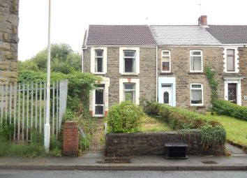 Thumbnail 2 bedroom end terrace house for sale in Clydach Road, Morriston, Swansea