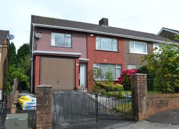 Thumbnail 3 bed semi-detached house for sale in Vivian Road, Sketty, Swansea