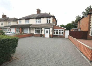 Thumbnail 3 bed semi-detached house for sale in Oadby Road, Wigston, Leicestershire