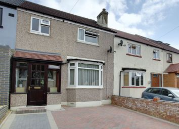 Thumbnail 3 bed terraced house for sale in Birkbeck Avenue, Greenford